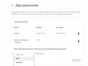 谷歌邮箱Gmail使用foxmail客户端一直密码错误,怎么解决?插图